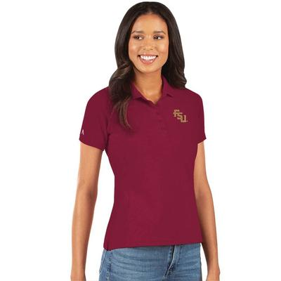 FSU Antigua Women's Legacy Pique Polo