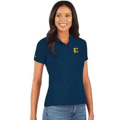 ETSU Antigua Women's Legacy Pique Polo