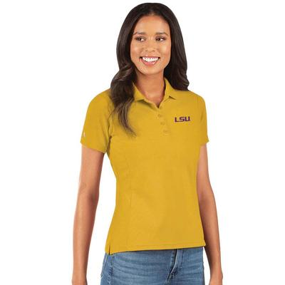 LSU Antigua Women's Legacy Pique Polo