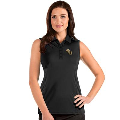 FSU Antigua Women's Sleeveless Tribute Polo