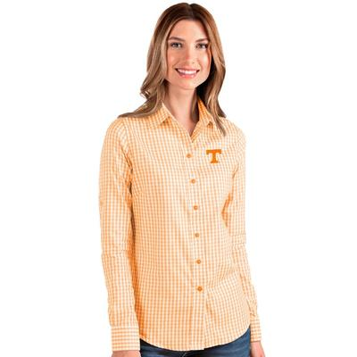 Tennessee Antigua Women's Structure Gingham Woven Top