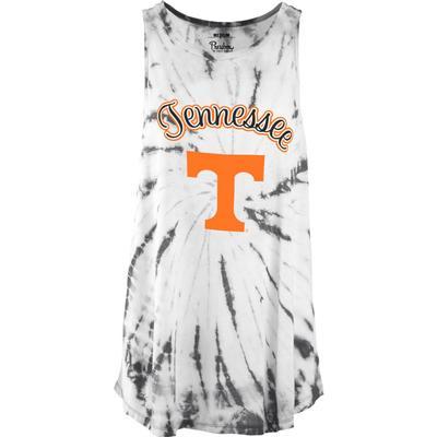 Tennessee Pressbox Women's Tampa Tie Dye Tank