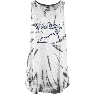 Kentucky Pressbox Women's Tampa Tie Dye Tank