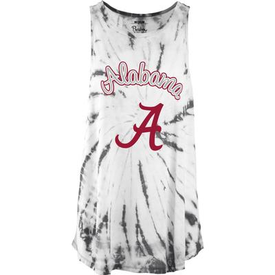 Alabama Pressbox Women's Tampa Tie Dye Tank