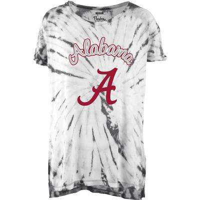 Alabama Pressbox Women's Tampa Tie Dye Tee