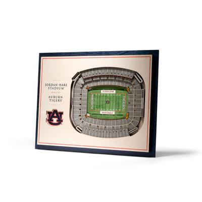 Auburn 5-Layer 3D Jordan-Hare Stadium View Wall Art