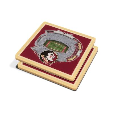 FSU 3D Stadium Views Coasters