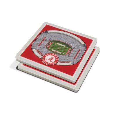 Alabama 3D Stadium Views Coasters