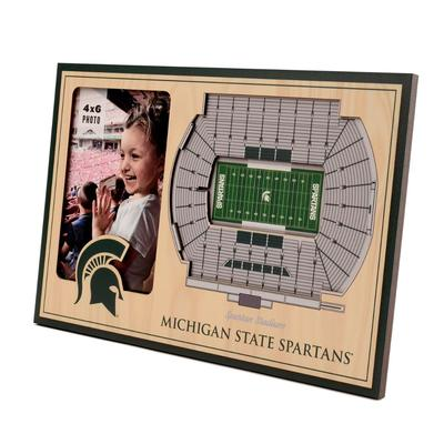 Michigan State 3D Stadium Views Picture Frame