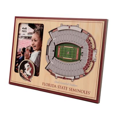 FSU 3D Stadium Views Picture Frame