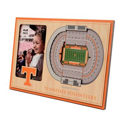 Tennessee 3D Stadium Views Picture Frame