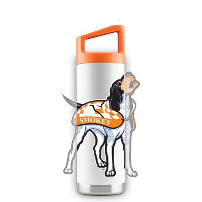 Tennessee 16 oz White Oversized Mascot Bottle