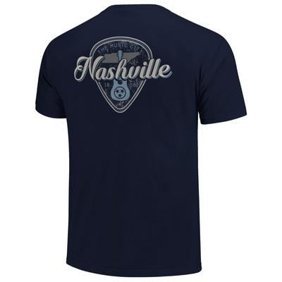 Nashville Men's Guitar Pick Short Sleeve Comfort Colors Tee
