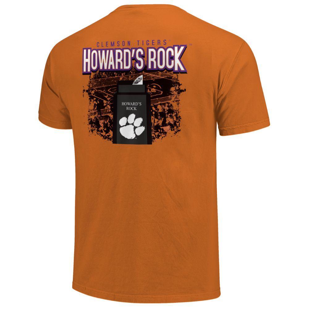 Clemson Men's Howard's Rock Short Sleeve Comfort Colors Tee