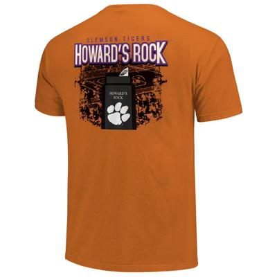 Clemson Men's Howard's Rock Short Sleeve Comfort Colors Tee
