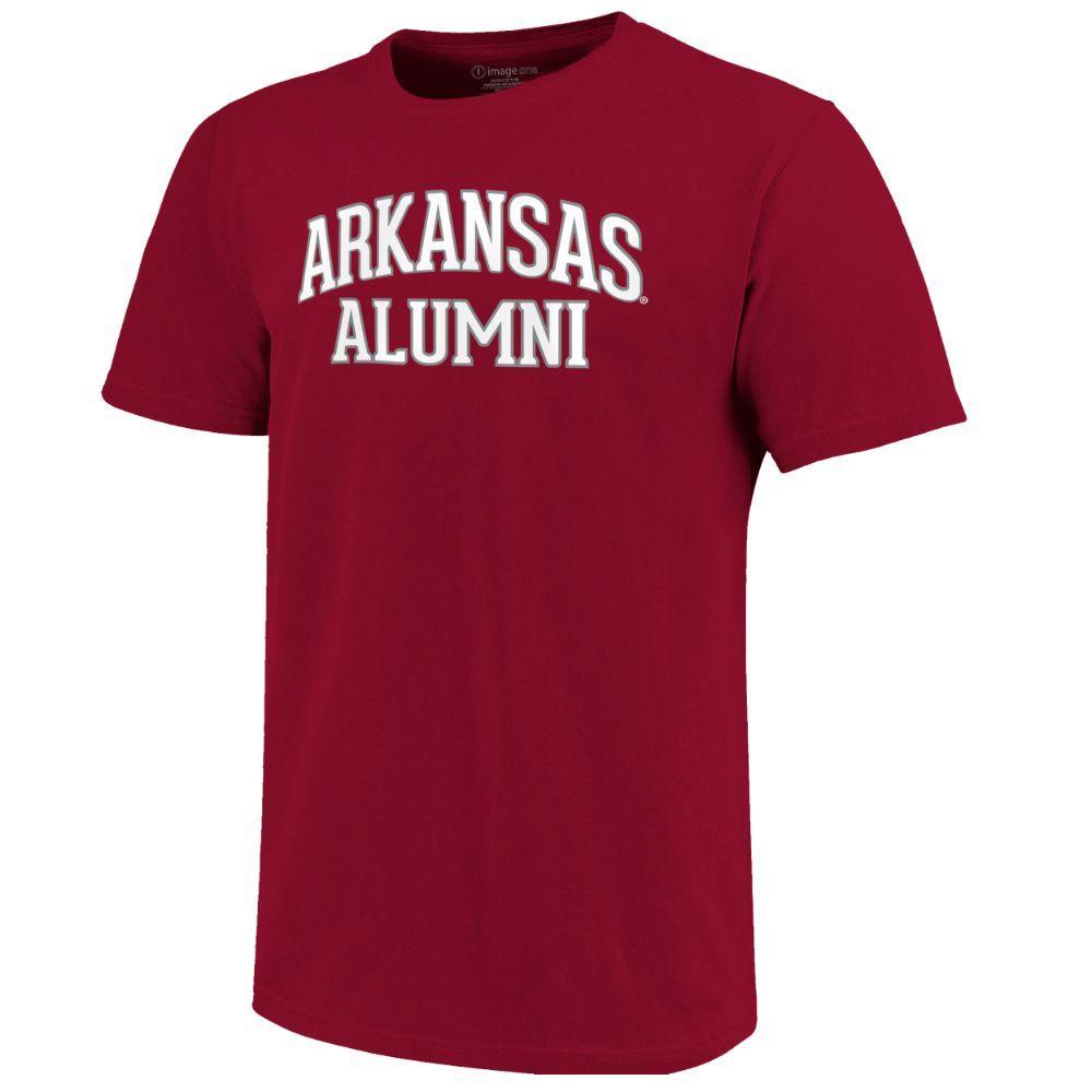 Arkansas Women's Lined Alumni Arch Tee