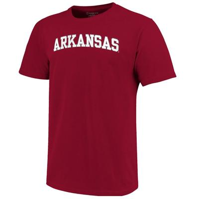 Arkansas Women's Lined Basic Arch Tee