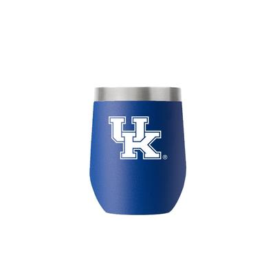 Kentucky 12 oz Royal Stemless Tumbler