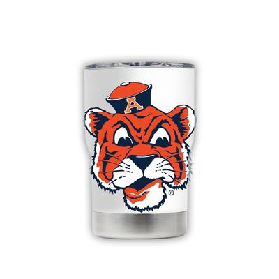Auburn 3-N-1 Jacket White with Oversized Mascot Tumbler