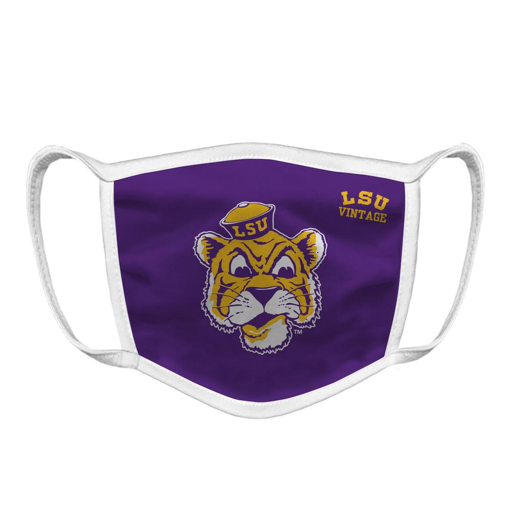Lsu Retro Mike Face Mask