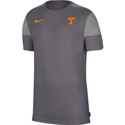 Tennessee Nike Men's Coach UV Short Sleeve Top