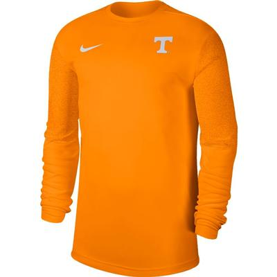 Tennessee Nike Men's Coach UV Long Sleeve Top