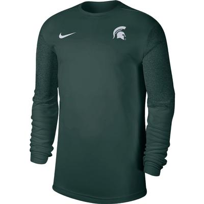 Michigan State Nike Men's Coach UV Long Sleeve Top