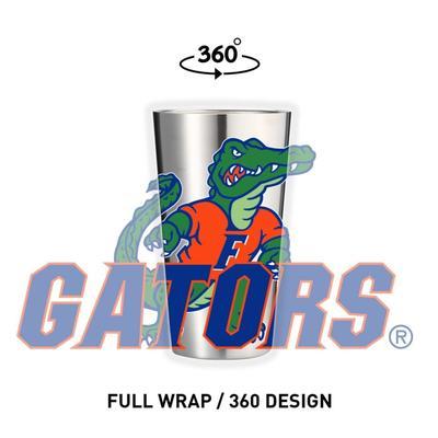 Florida Gametime Sidekicks 16oz Standing Gator Tumbler