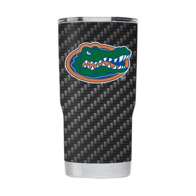 Florida Gametime Sidekicks 20oz Carbon Fiber Tumbler