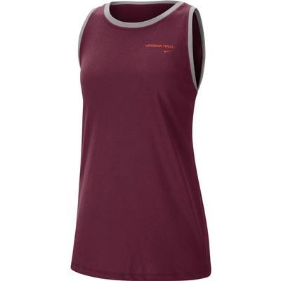 Virginia Tech Nike Women's Tomboy Tank Top