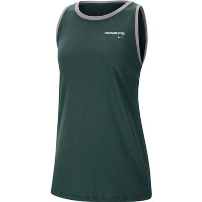 Michigan State Nike Women's Tomboy Tank Top