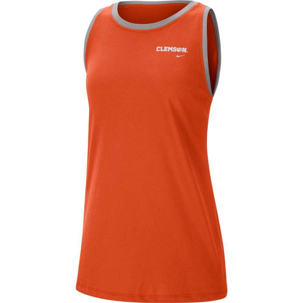 Clemson Nike Women's Tomboy Tank Top