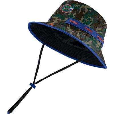 Florida Jordan Brand Dri-Fit Camo Bucket Hat