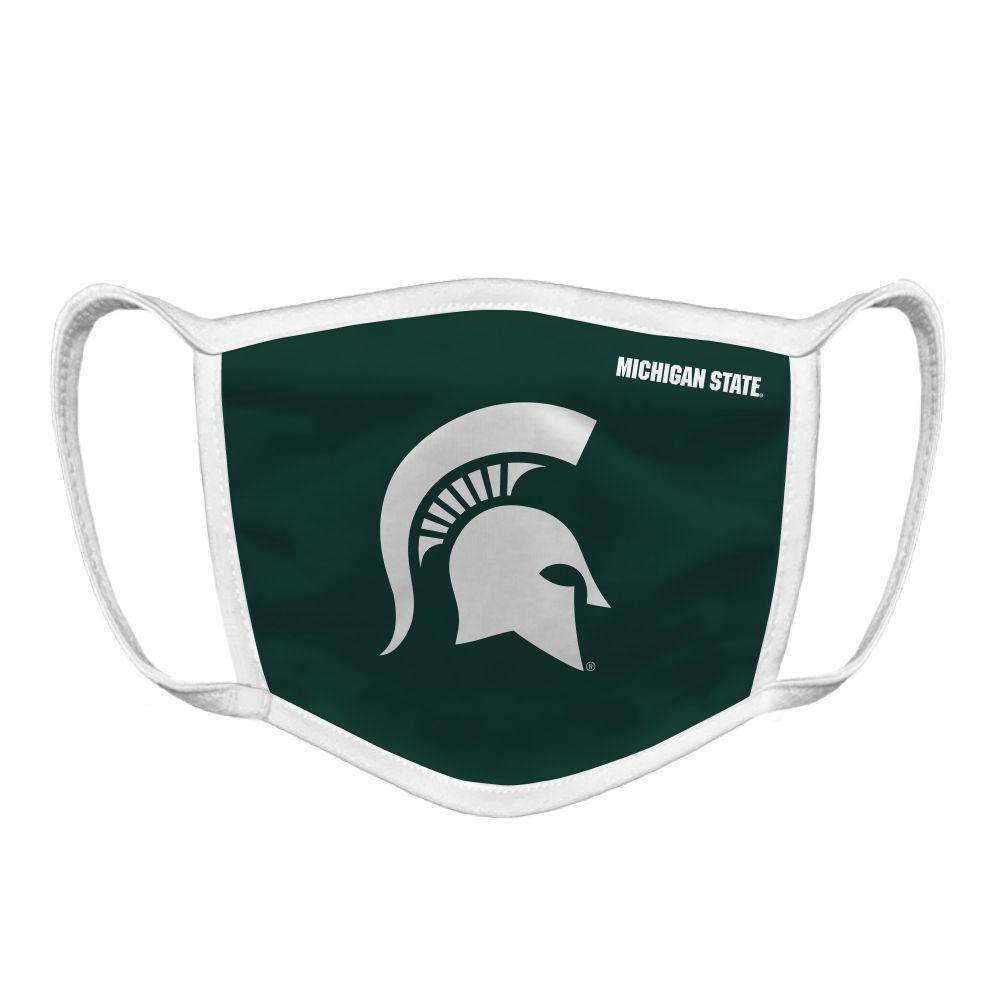 Michigan State Spartan Logo Face Mask