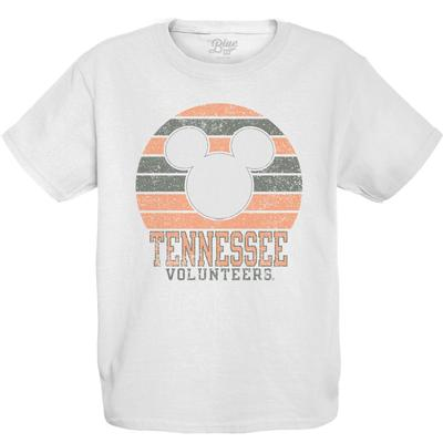 Tennessee Youth Mickey Mouse Circle Short Sleeve Tee