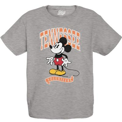 Tennessee Youth Mickey Mouse Arch Short Sleeve Tee
