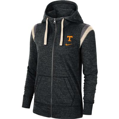 Tennessee Nike Women's Full Zip Vintage Gym Hoodie