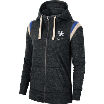 Kentucky Nike Women's Full Zip Vintage Gym Hoodie