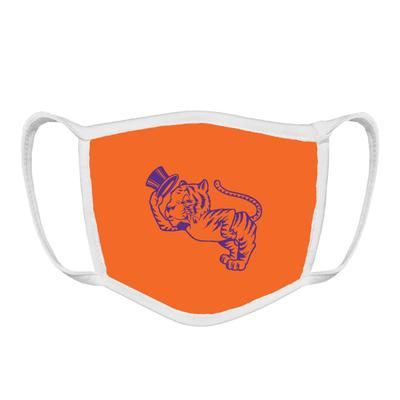 Clemson Retro Tiger Face Mask