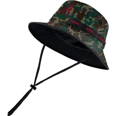 Alabama Nike Camo Dry Bucket Hat