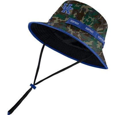 Kentucky Nike Camo Dry Bucket Hat