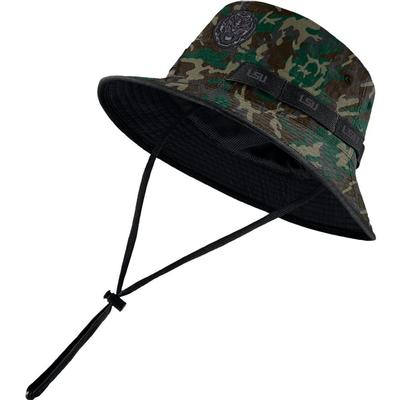 LSU Nike Camo Dry Bucket Hat