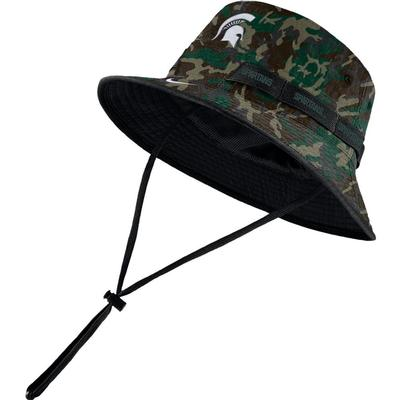 Michigan State Nike Camo Dry Bucket Hat