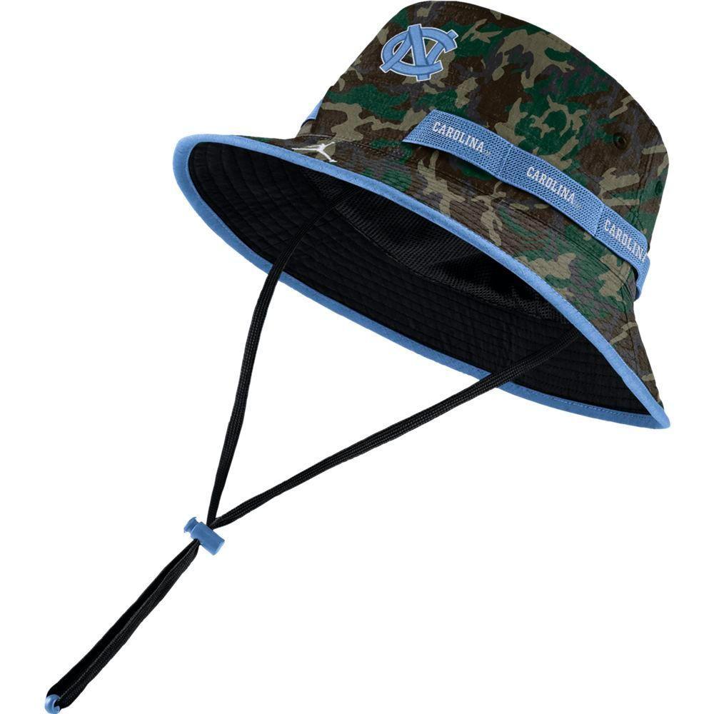 Unc Jordan Brand Camo Dry Bucket Hat