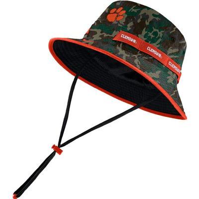 Clemson Nike Camo Dry Bucket Hat