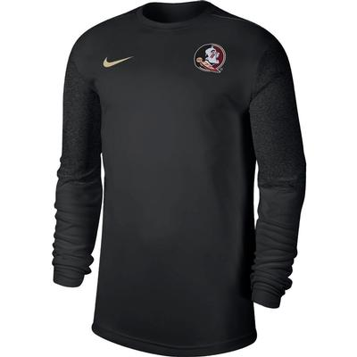 Florida State Nike Men's Coach UV Long Sleeve Top