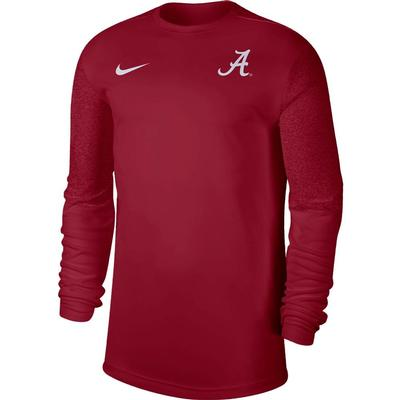 Alabama Nike Men's Coach UV Long Sleeve Top