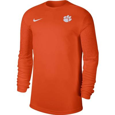 Clemson Nike Men's Coach UV Long Sleeve Top