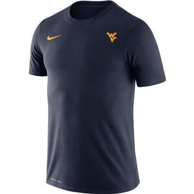 West Virginia Nike Men's Legend Logo Short Sleeve Tee