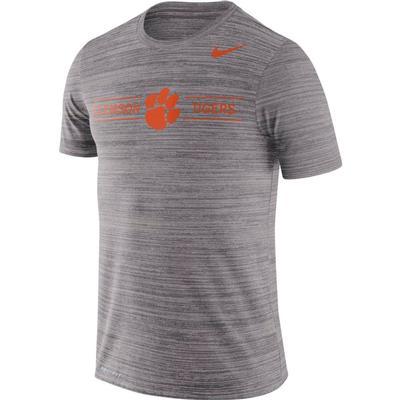Clemson Nike Men's Dri-fit Velocity Short Sleeve Tee